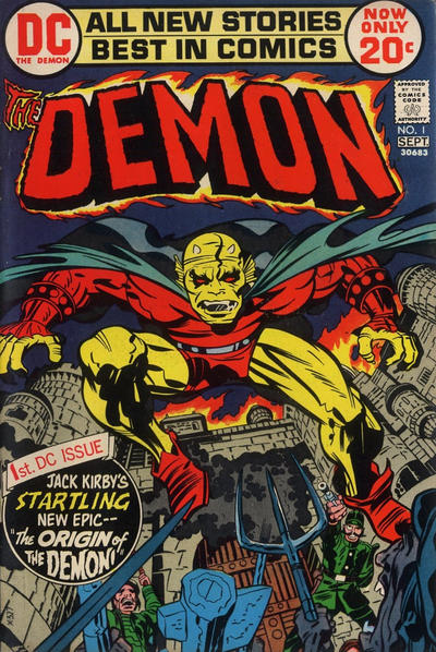The Demon 1 cover