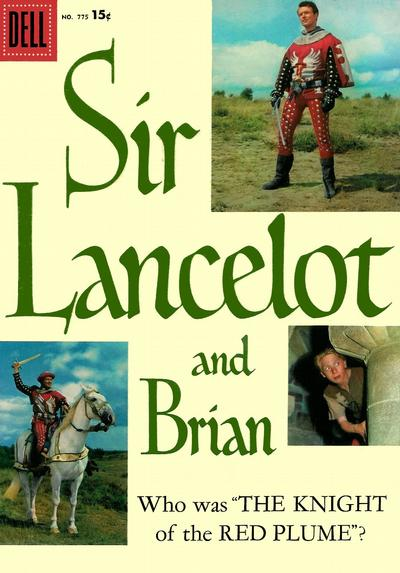 Adventures of Sir Lancelot cover