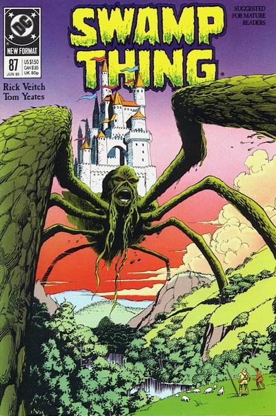 Swamp Thing 87 cover