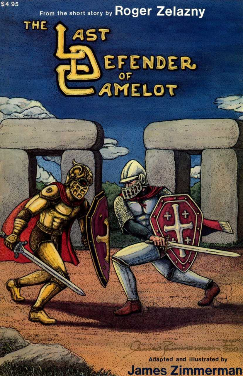 Last Defender of Camelot cover