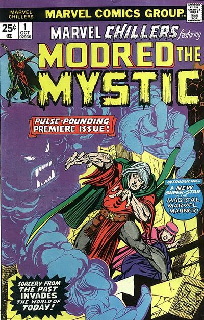 Modred the Mystic Marvel Chillers #1 cover
