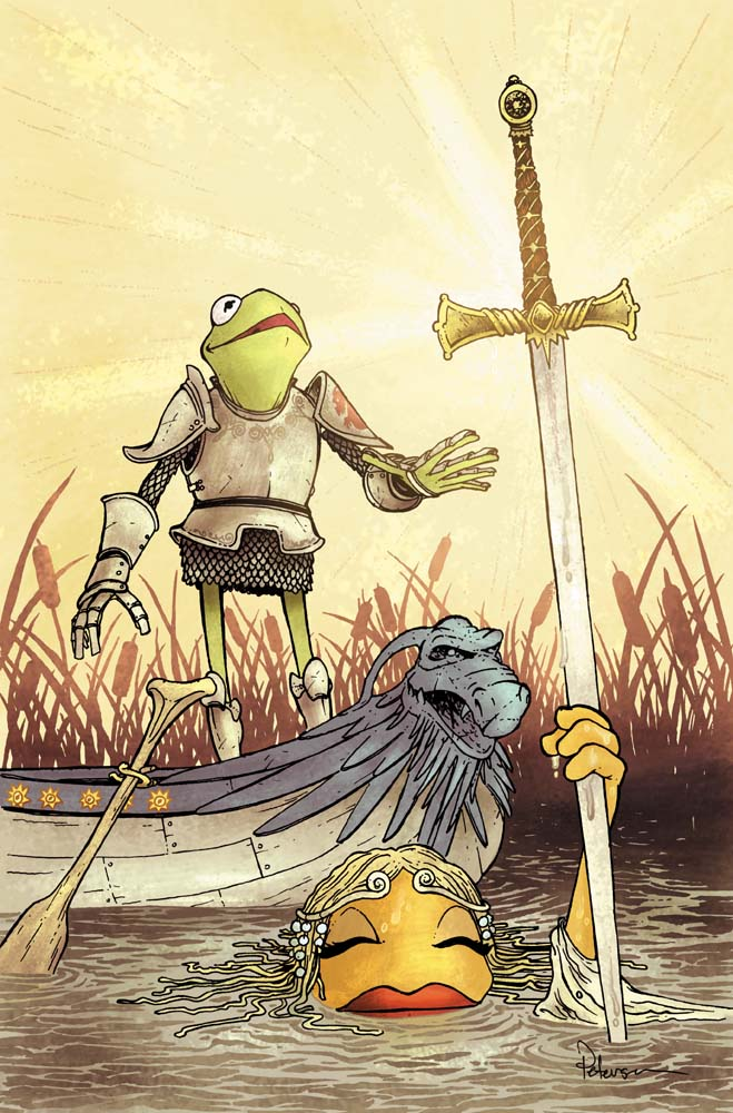 Muppet King Arthur 2 cover